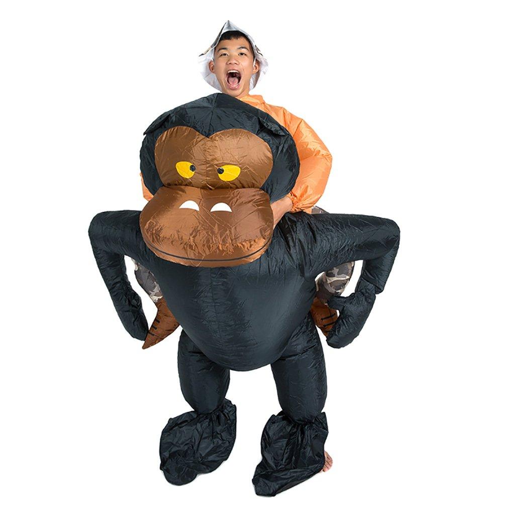 NiSeng Disfraz de Gorila Novedad Disfraces Hinchable Halloween ...