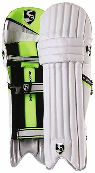 SG Ecolite Batting Leg Guard Cricket Batting Pads at amazon