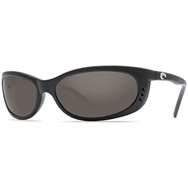 12d43b0adfa1 Amazon.com: Costa Del Mar Fathom Black - 580G Dk Gray Glass w/ Free Costa  Neoprene Classic B: Clothing