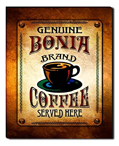 bonia-brand-coffee-gallery-wrapped-canvas-print