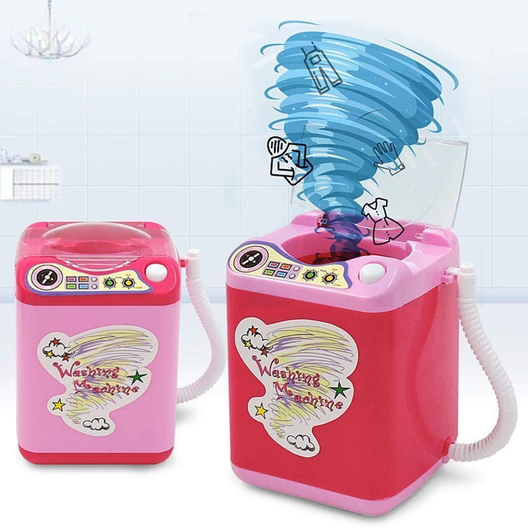 Ladiy Children Washing Machine Toy Mini Simulation Furniture Toys Makeup Brush Cleaner Play by Ladiy (Image #6)