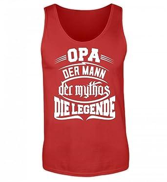 Shirtee Opa Mann Mythos Legende Geschenk Für Opi Großvater