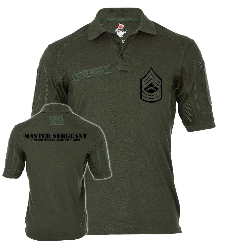 Tactical Poloshirt Alfa Master Sergeant United States Marine Corps Marines Dienstgrad USA  19043
