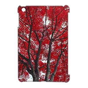 LZHCASE Diy Maple Phone Case For iPad Mini [Pattern-1]