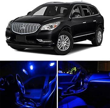 11 PCS LED Lights For 2013-2015 2016 Buick Encore Kit Interior Package WHITE