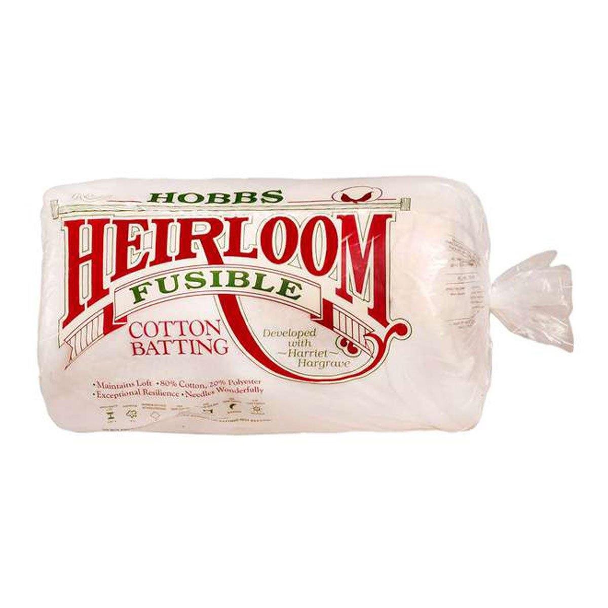 Hobbs Confezione di ovatta da cucito fusibile 114x 152,4 cm, colore bianco HF45