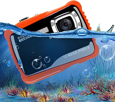 De Los Niños De La Cámara Digital Resistente Al Agua 3 Metros Cámara Bajo El Agua Natación Pixel HD Fotografía Mini Dibujo Animado,Negro: Amazon.es: Deportes y aire libre
