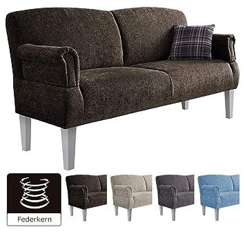 Cavadore 3 Sitzer Sofa Pasle Mit Federkern Fur Kuche Esszimmer