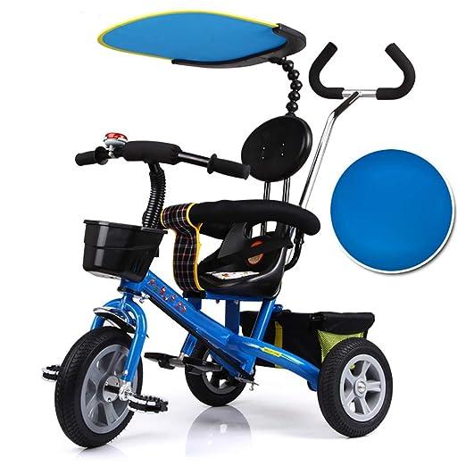 HJFGIRL Triciclos Niños 2 Años Evolutivo, 3 en 1 Bicicletas con ...
