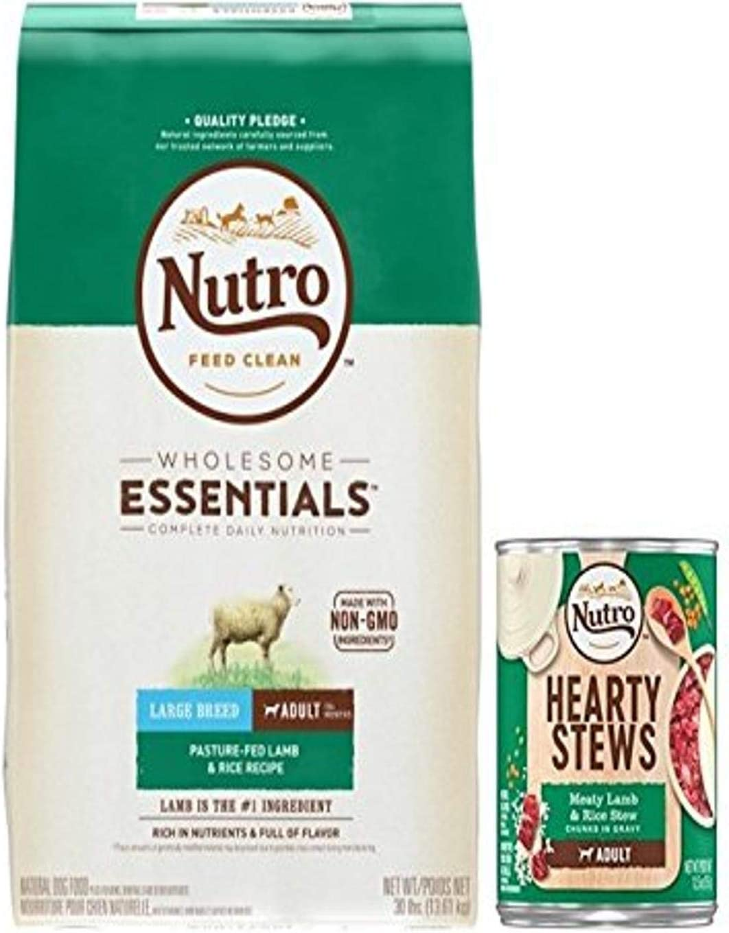 Nutro Lamb & Rice Dry And Wet