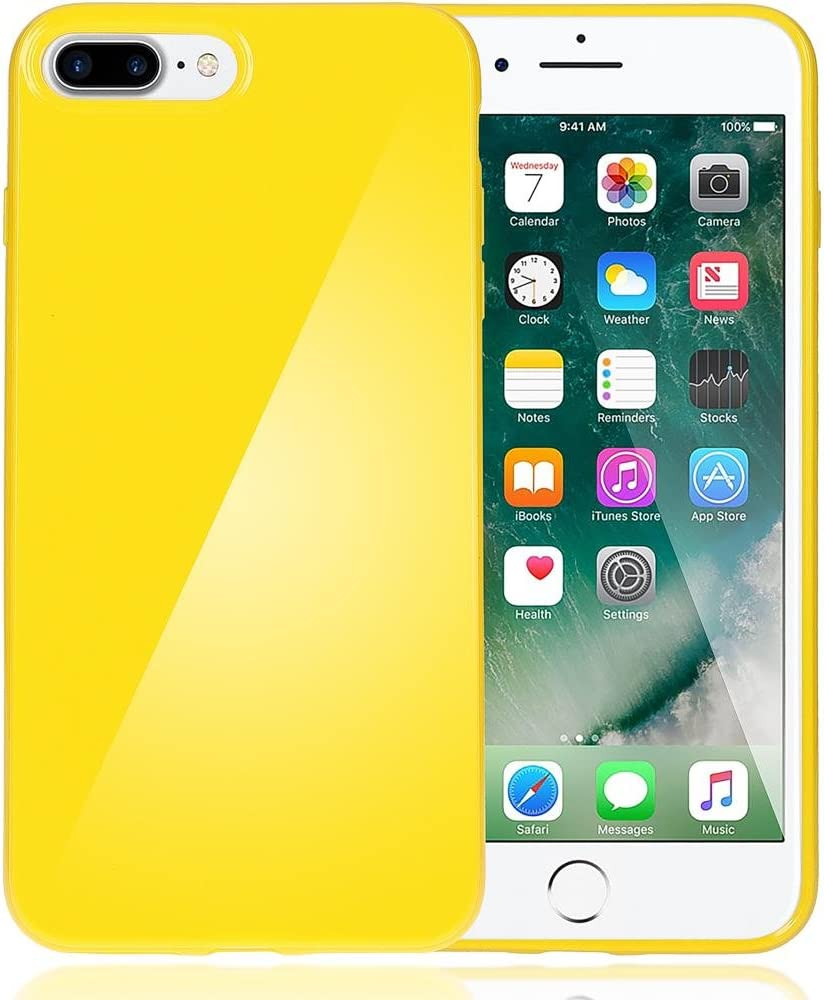 NALIA Funda Compatible con iPhone 8 Plus / 7 Plus, Ultra-Fina Gel ...