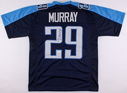 DeMarco Murray Signed Tennessee Titans Jersey (JSA) at Amazon s ... 6d769a2d3