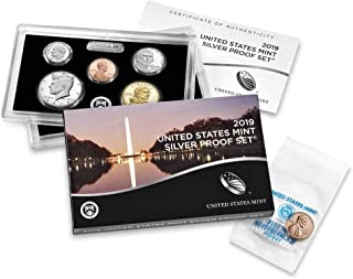 2019 Silver Proof Set with Bonus 2019 'W' Reverse Proof Penny