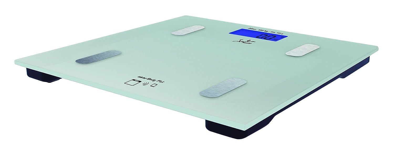 Jata Hogar 592 Analizador Corporal y báscula con tecnología Bluetooth y Visor LCD, Vidrio, Gris: Amazon.es: Salud y cuidado personal