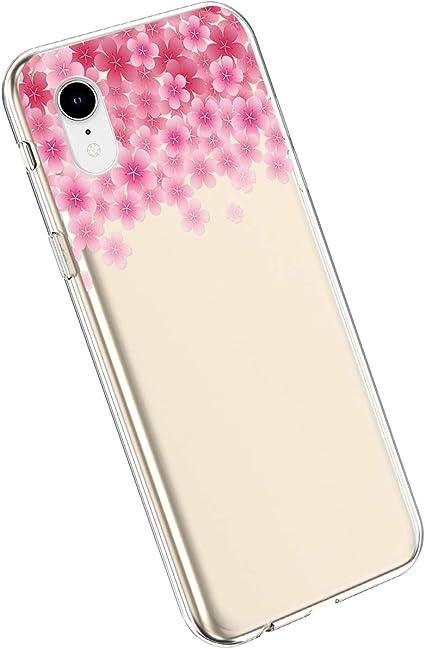 Estrellas Transparentes YSIMEE Compatible con Fundas iPhone XR