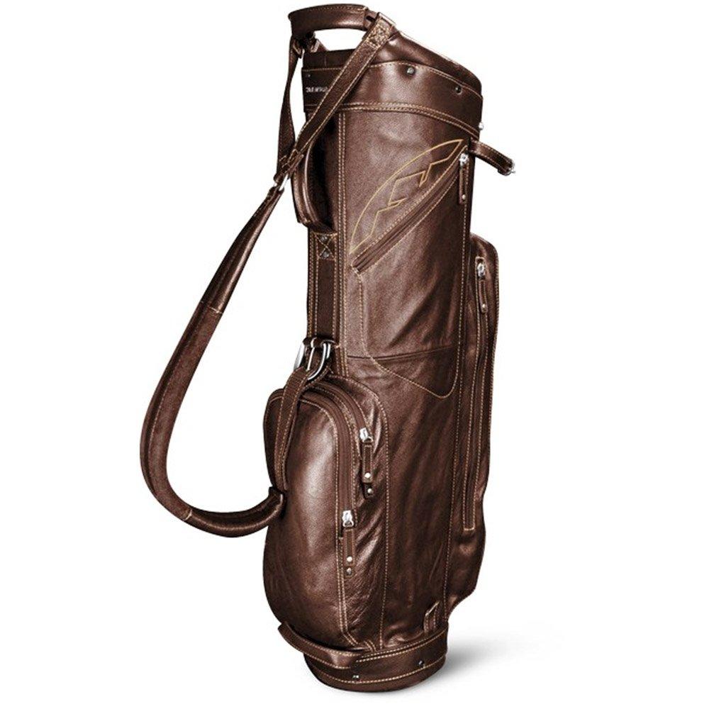 Sun Mountain Leather Collection Cart Bag Golf Brown/Khaki New