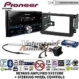 Pioneer MVH-S400BT Double Din Radio Install Kit with Bluetooth USB/AUX Fits 2012-2014 Volkswagen Beetle, 2010-2014 Golf, 2006-2015 Jetta