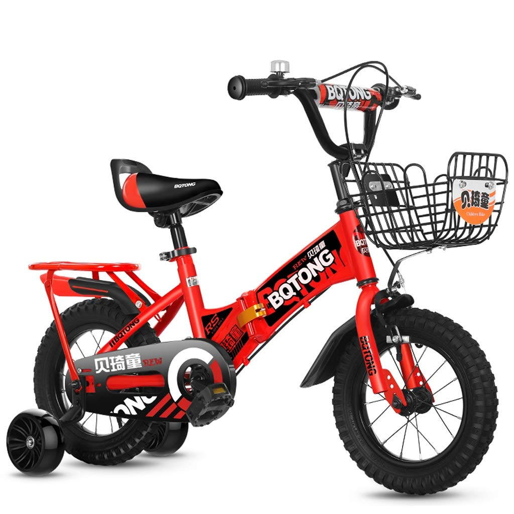 grandes precios de descuento 12 pulgadas Bicicletas Bicicletas Bicicletas para niños, bicicleta portátil plegable para niños, triciclo con pedales para niñas de 2 a 8 años, marco de acero de alto Cochebono, rueda de asistencia de flash silencioso, 3 tamaños (12 pul  Con precio barato para obtener la mejor marca.
