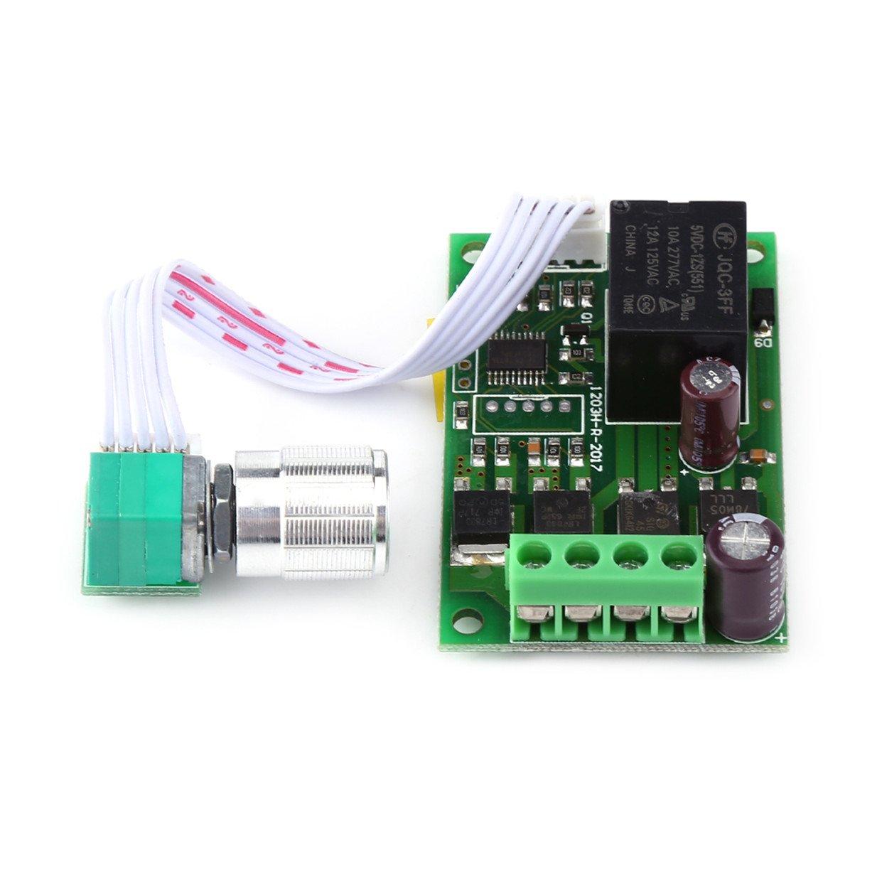 PWM 12V/24V 3A DC Motor Controller Automatic Reversible Motor Speed Adjustable Electric Regulator