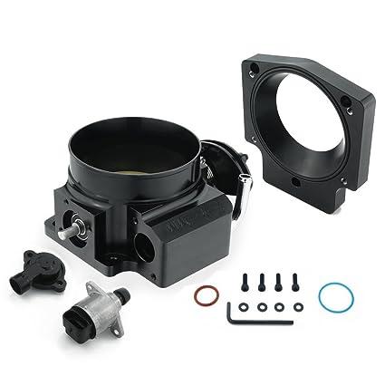 Amazon com: Heinmo 92mm 102mm Throttle Body W/TPS + Manifold