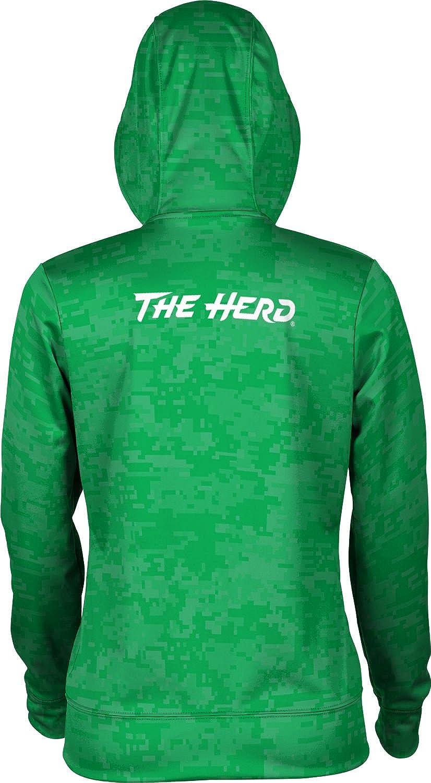 School Spirit Sweatshirt Digi Camo ProSphere Marshall University Womens Pullover Hoodie