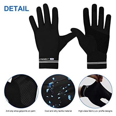 Details about  /2*Sensitive Touch Screen Gloves Palm Breathable Unisex For Fishing Cycling