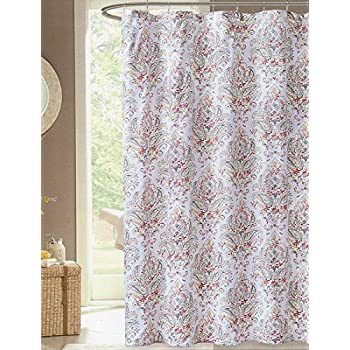 Ordinaire Envogue Leona Multi Color Paisley Shower Curtain