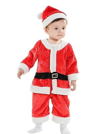 VENI MASEE Weihnachtsfeier Geschenke Baby Mädchen Santa Kostüm fancy ...