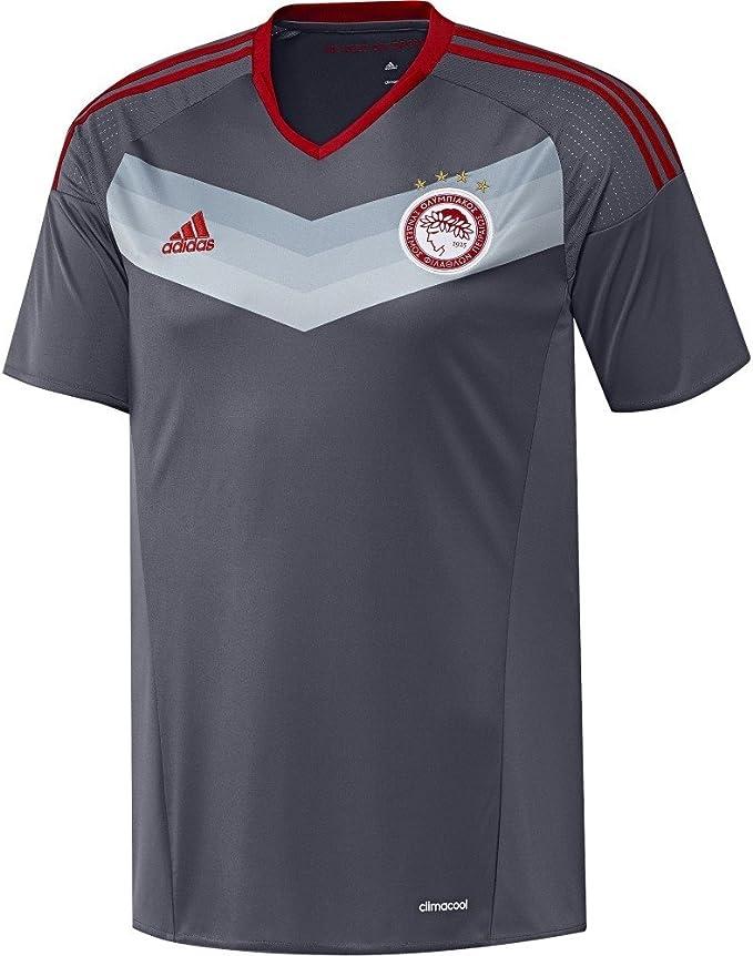 adidas OFC A JSY – 2 nd Fußball Set T Shirt für von Olympiacos FC 20152016 Für Herren