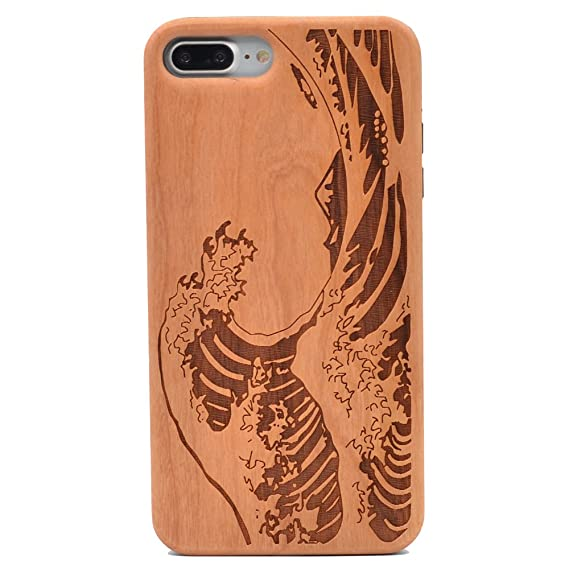 iphone 7 case wood carving