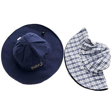 Sombrero para el Sol Protección UV Sombrero Playa Vacaciones Gorra ...