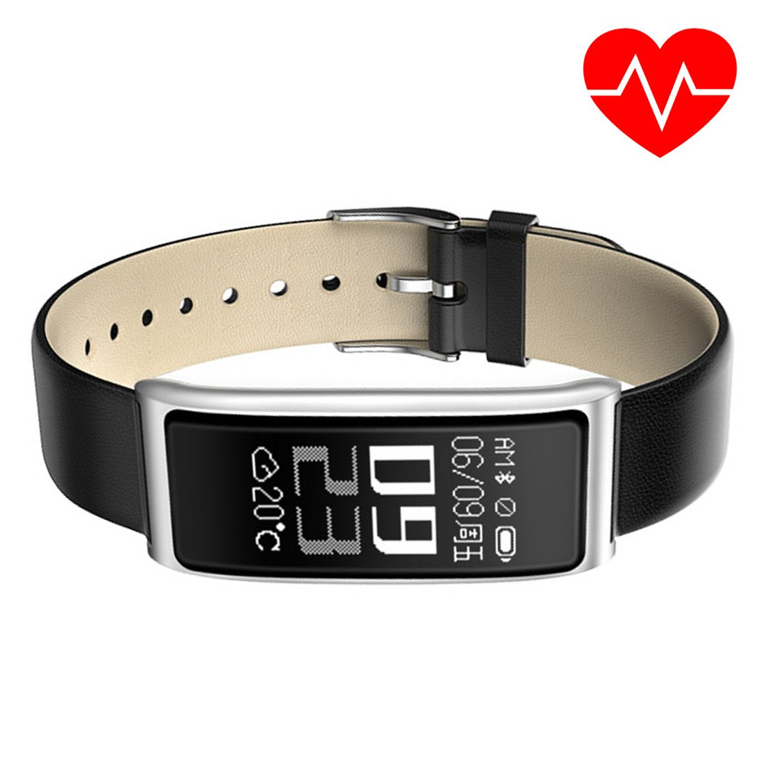 XIMIXI Fitness Tracker Watch Activity Tracker with Heart Rate Monitor Bluetooth Smart Band Pedometer Watch for Men Women US Version by XIMIXI