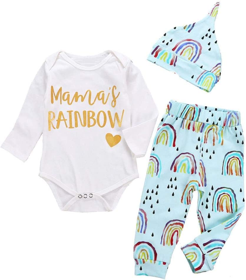 TM Pants Outfits for 0-24 Months Jchen Clearance Infant Baby Boys Girls Christmas Short Sleeve Letter Print Tops