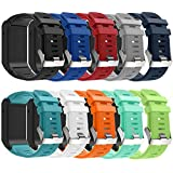 Band For Garmin Vivoactive HR, Soft Silicone Replacement Watch Band ONLY for Garmin Vivoactive HR (No Tracker, Replacement Bands Only)