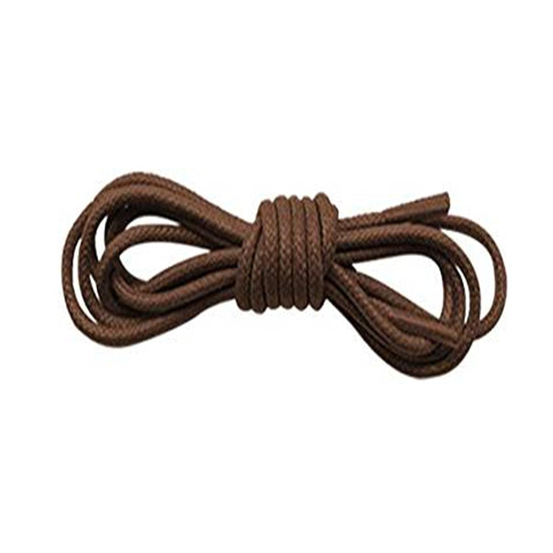 ab973f3da8014 Tan Brown Shoelaces 2.5mm wide & 95cm Long Thin Cotton Waxed Shoe ...