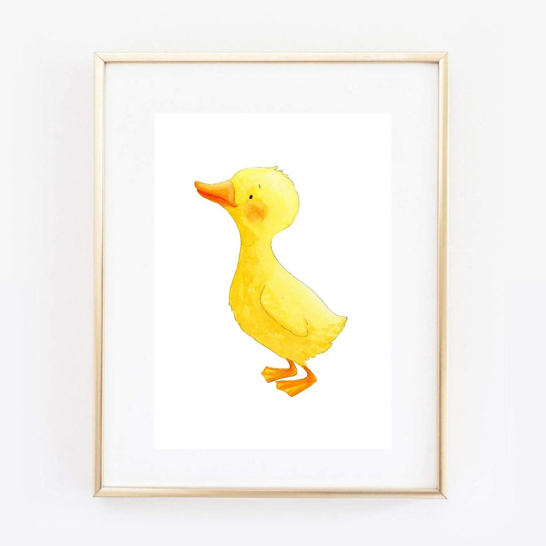 Fischreiher Vogel Graureiher grau Aquarell Geschenk Druck Poster Bild Din A4 Kunstdruck ungerahmt