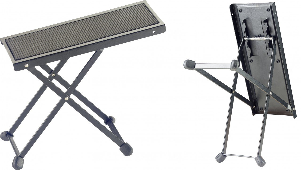 Stagg FOS-B1 Guitar Foot Stool with Anti-Slip Rubber Padding - Black FOS-B1 BK