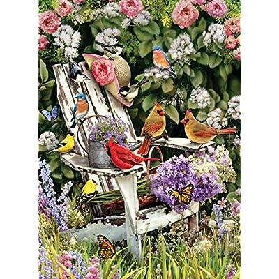Cobblehill 57191 Mo 1000 Summer Adirondack Birds Puzzle Vari