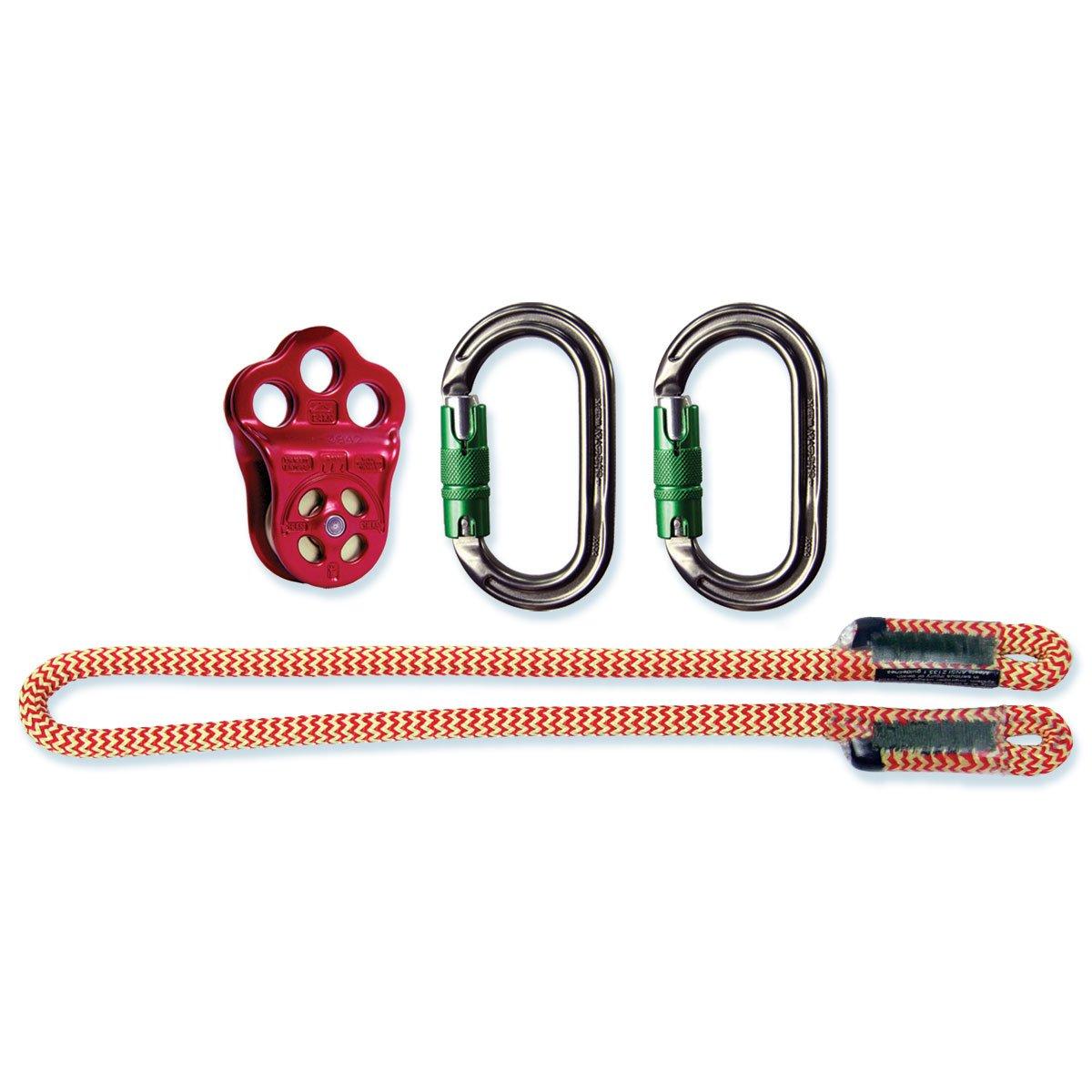 DMM ヒッチクライマープーリーセット - 1/2インチ ロープ (2個セット)   B07CP2YKC7