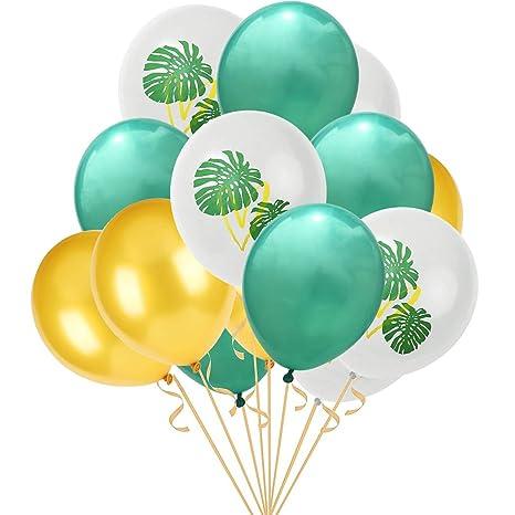 Globo de fiesta, FunPa, 15 globos hawaianos, decoración ...