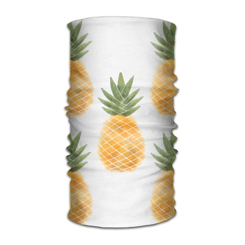 guanggs Pineapple in Summer Outdoor Scarf Headbands Bandana Mask Neck Gaiter Head Wrap Mask Sweatband