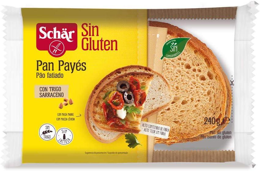 Pan payés de trigo sarraceno DR SCHÄR (240 gr)