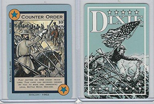 1994 Columbia Games, Dixie Civil War, 222 Counter Order