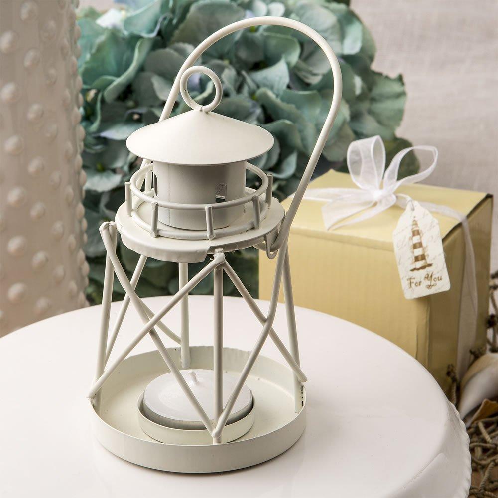 FC White Mini Lanterns Decorative Wedding Party Tealight Lighthouse ...