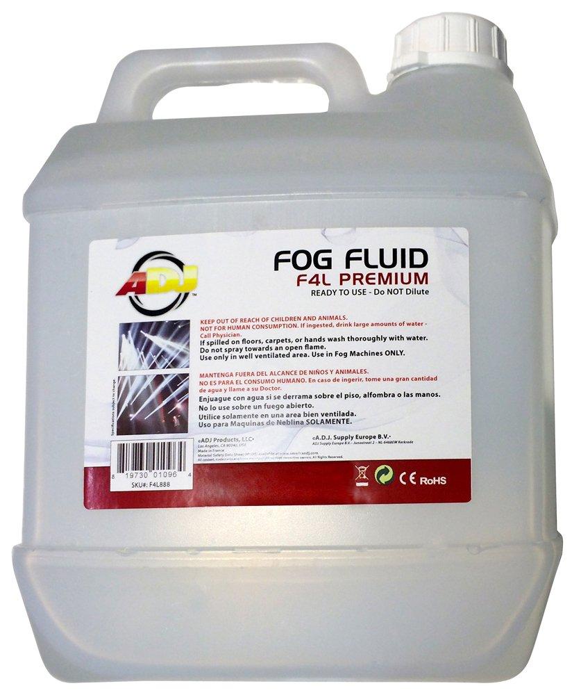 ADJ Products F4L888 PREMIUM Grade Water Based Fog Liquid F4L PREMIUM