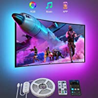 Govee TV LED Backlight, 3m LED Lights for TV with Bluetooth App and Remote Control, Music Sync, DIY and Scene Modes, RGB…