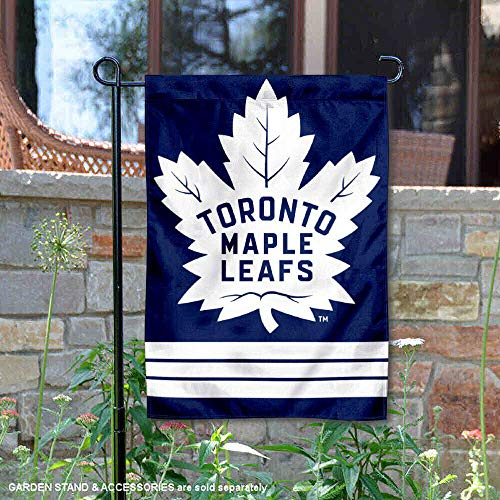 (Wincraft Toronto Maple Leafs Double Sided Garden Flag )