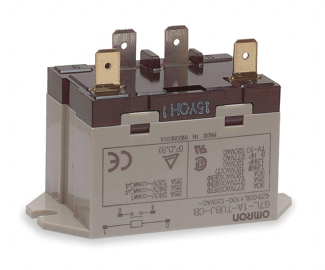 SPST-NO Enclosed Power Relay 120VAC 4 Pn