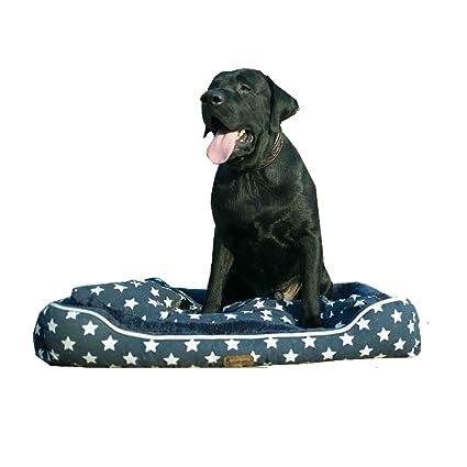Pet Glam Fabric Washable Dog Bed For Golden Retriever Labrador