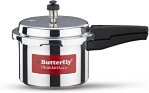 Butterfly SP-3L Standard Plus Aluminum Pressure Cooker, 3-Liter